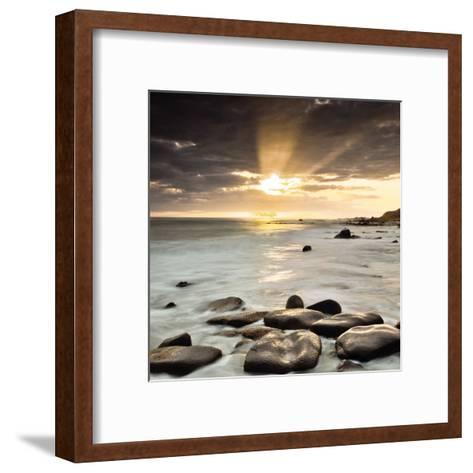 Nordic Sunset-Assaf Frank-Framed Art Print