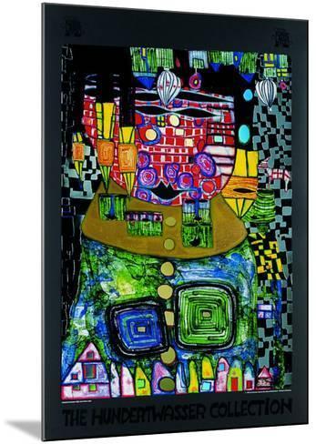 50.37-Friedensreich Hundertwasser-Mounted Art Print