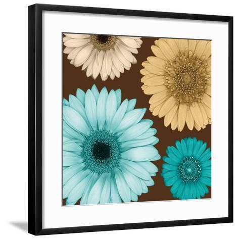 Daisy Quartet I-Lindsay Blake-Framed Art Print