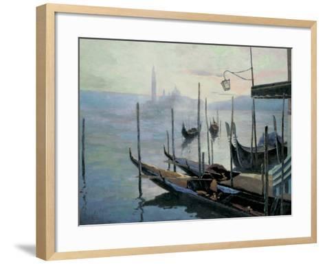 Venetian Twilight-Julien V-Framed Art Print