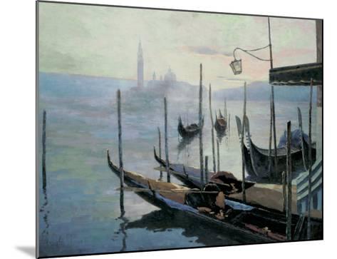 Venetian Twilight-Julien V-Mounted Art Print