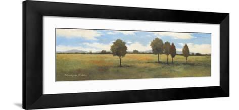 Valley of Gold I-Kanayo Ede-Framed Art Print
