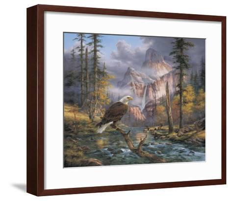 Eagles Perch-Rudi Reichardt-Framed Art Print