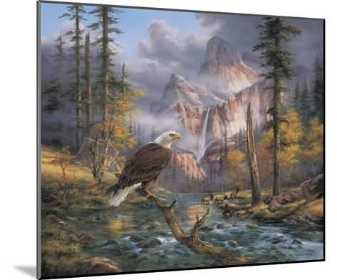 Eagles Perch-Rudi Reichardt-Mounted Art Print