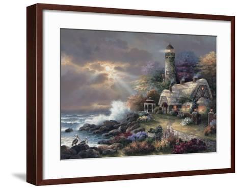 Heaven's Light-James Lee-Framed Art Print