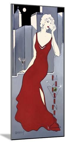 La Dame en Rouge-Janet Kruskamp-Mounted Art Print