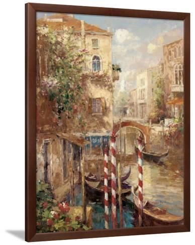 Venice Canal I-Peter Bell-Framed Art Print