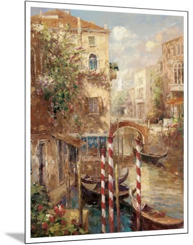 Venice Canal I-Peter Bell-Mounted Art Print