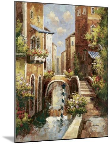 Venice Canal II-Peter Bell-Mounted Art Print