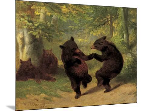 Dancing Bears-William Holbrook Beard-Mounted Art Print
