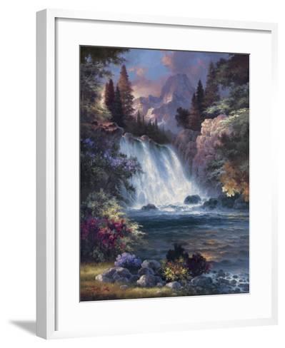 Sunrise Falls-James Lee-Framed Art Print