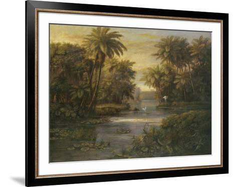 Lagoon at Daybreak-Montoya-Framed Art Print