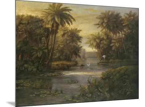 Lagoon at Daybreak-Montoya-Mounted Art Print