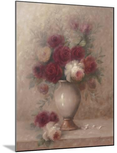 Emilia's Flowers-Cheovan-Mounted Art Print