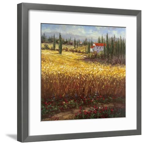 Tuscan Wheat-Hulsey-Framed Art Print