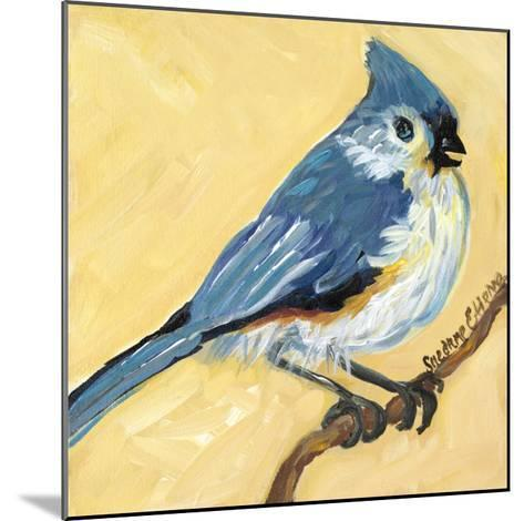 Bird Square II-Suzanne Etienne-Mounted Art Print
