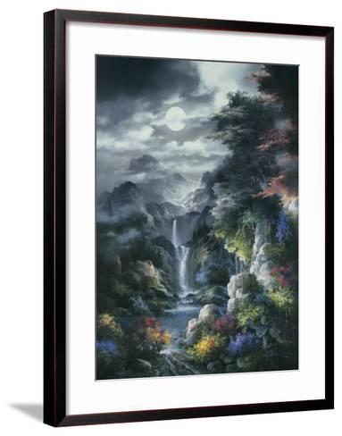 Midnight Mist Canyon-James Lee-Framed Art Print