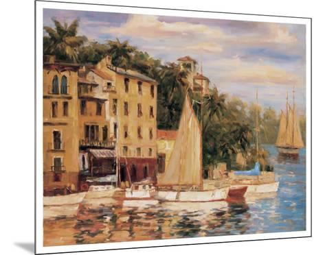 San Miguel Harbor-Enrique Bolo-Mounted Art Print