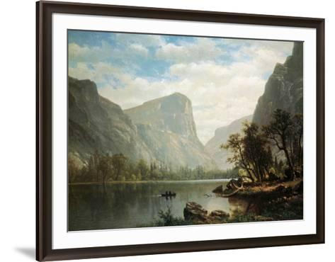 Mirror Lake, Yosemite Valley-Albert Bierstadt-Framed Art Print