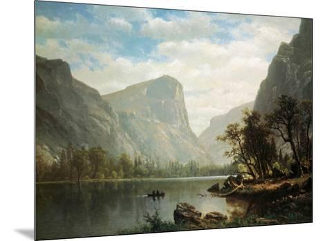 Mirror Lake, Yosemite Valley-Albert Bierstadt-Mounted Art Print