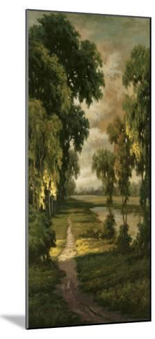 Tranquility Path I-Pierre-Mounted Art Print