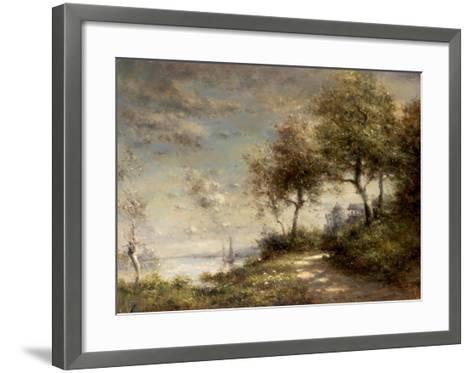 Caminno di Mare--Framed Art Print