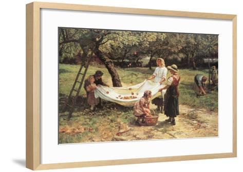 The Apple Gatherers-Frederick Morgan-Framed Art Print
