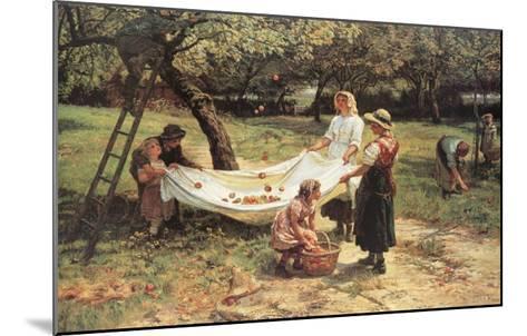 The Apple Gatherers-Frederick Morgan-Mounted Art Print