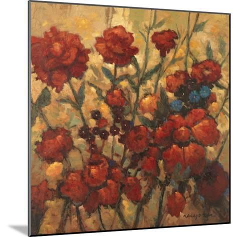 Flower Garden in Bloom-Kanayo Ede-Mounted Art Print