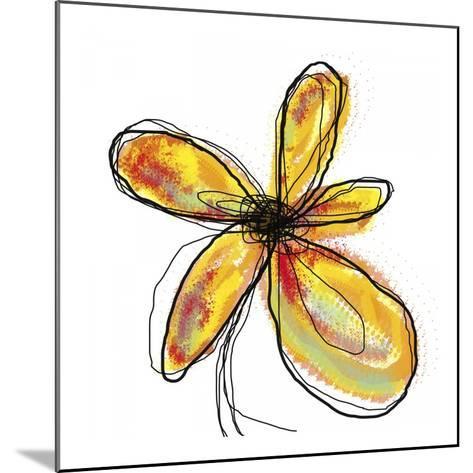 Liquid Flower I-Jan Weiss-Mounted Art Print