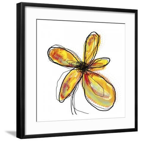 Liquid Flower I-Jan Weiss-Framed Art Print