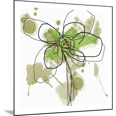 Butterfly Flower I-Jan Weiss-Mounted Art Print