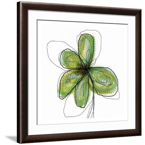 Liquid Flower II-Jan Weiss-Framed Art Print