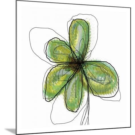 Liquid Flower II-Jan Weiss-Mounted Art Print