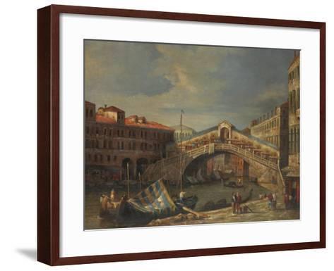Venice Bridge-Stanley-Framed Art Print