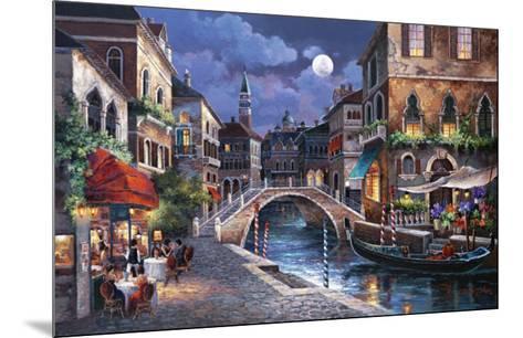 Streets of Venice II-Alma Lee-Mounted Art Print