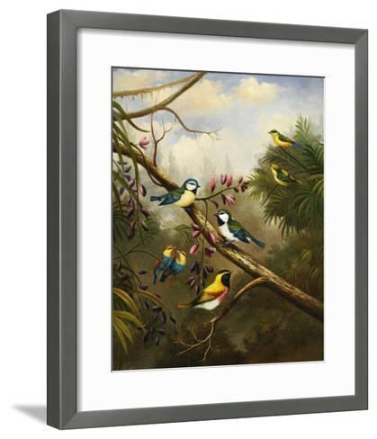 Afternoon Gathering II-Bilben-Framed Art Print