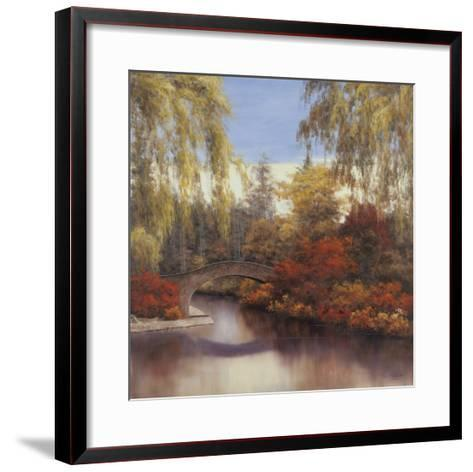 Autumn Crossing-Diane Romanello-Framed Art Print