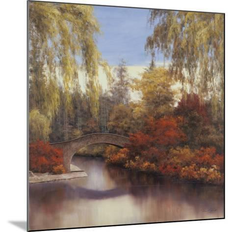 Autumn Crossing-Diane Romanello-Mounted Art Print