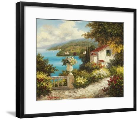 Casa del Mare-Lazzara-Framed Art Print