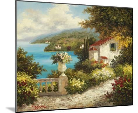 Casa del Mare-Lazzara-Mounted Art Print