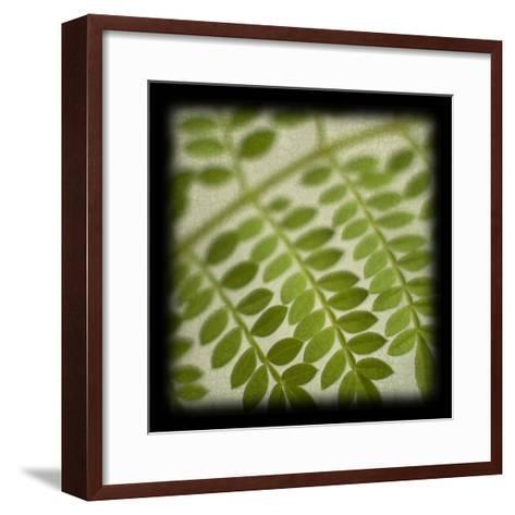Leafy Fern-June Hunter-Framed Art Print