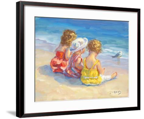Three Little Maids-Lucelle Raad-Framed Art Print