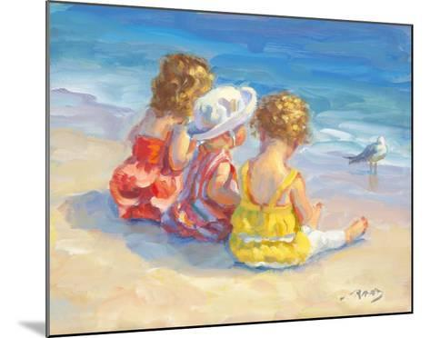 Three Little Maids-Lucelle Raad-Mounted Art Print