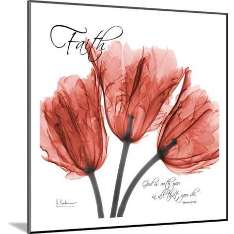 Royal Red Tulip, Faith-Albert Koetsier-Mounted Art Print