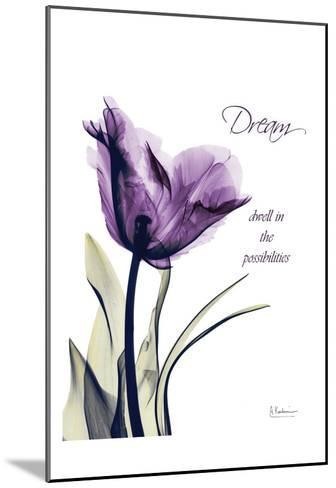 Purple Tulip, Dream-Albert Koetsier-Mounted Art Print
