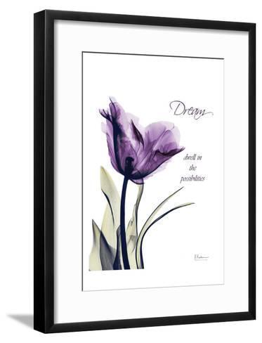 Purple Tulip, Dream-Albert Koetsier-Framed Art Print