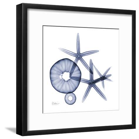 Sea Life in Blue II-Albert Koetsier-Framed Art Print