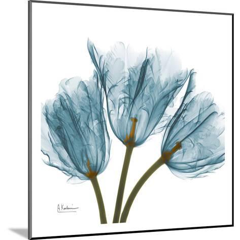 Tulips in Blue-Albert Koetsier-Mounted Art Print
