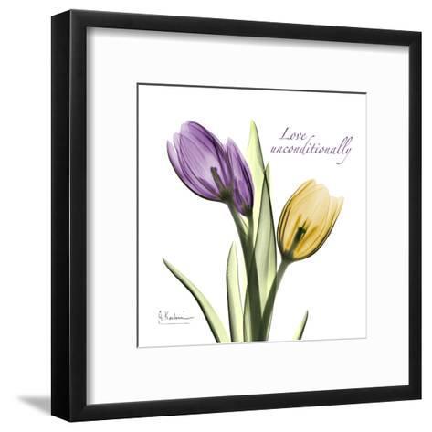 Tulips Love Unconditionally-Albert Koetsier-Framed Art Print
